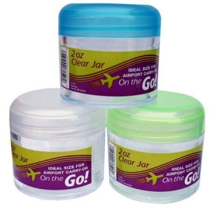 ON THE GO TRAVEL JAR LARGE CLEAR 50ML
