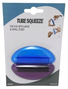 GOODTHINGS TOOTHPASTE TUBE SQUEEZE 2PK