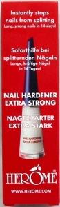 HEROME NAIL HARDENER(RED) EX STRONG 10ML