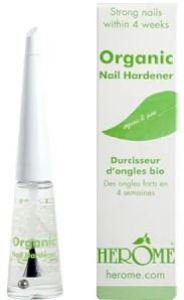 HEROME NAIL HARDENER ORGANIC(GREEN)