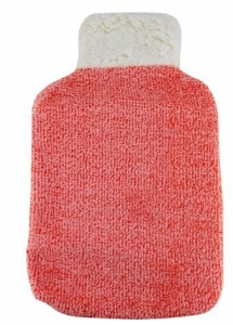 HOT WATER BOTTLE COVER CORAL PLUSH+++