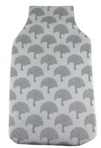 HOT WATER BOTTLE COVER TREES