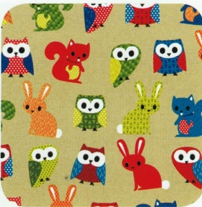 GIFT WRAP PAPER 50M FOREST FRNDS**ECO*+++