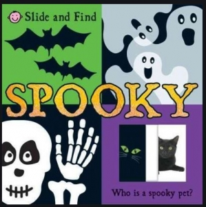 SPOOKY BOOK SLIDE AND FIND+++