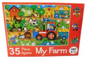 JIGSAW PUZZLE 35PCE MY FARM