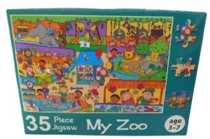 JIGSAW PUZZLE 35PCE MY ZOO