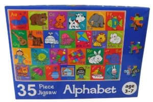 JIGSAW PUZZLE 35PCE ALPHABET