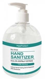 MAX PROTECT HAND SANITIZER 500ML PUMP