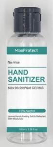 MAX PROTECT HAND SANITIZER 100ML FLIPTOP