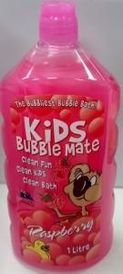 KIDS BUBBLE MATE RASPBERRY 1LT