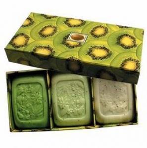 KIWI & ALOE VERA FRUITS SOAP BOXED 3PK+++
