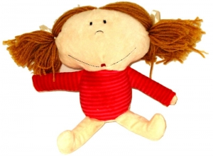 LINDY GIRL IN RED SWEATER 23CM+++