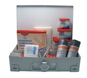 FIRST AID KIT METAL CASE 118PCE+++