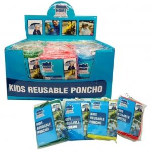 KIDS REUSABLE PONCHO