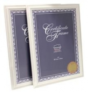 CERTIFICATE FRAME A4 WHITE