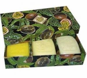 PASSIONFRUIT SOAP BOXED 3PK+++