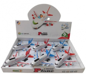 BOEING PLANE WITH LIGHTS N SOUNDS 17CM
