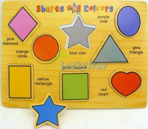 PUZZLE COLOURFUL SHAPES