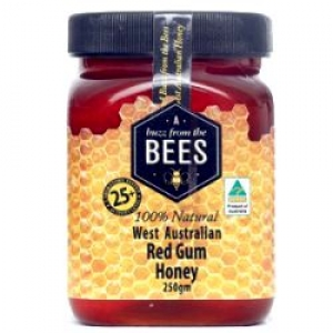 BFT BEES PURE RED GUM HONEY 250GM+++