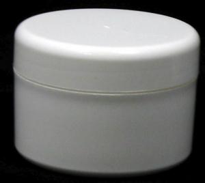 CP  50gm WHITE PVC JAR (53mm)(5375)