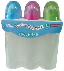 SISTER BROWNE 3PK BOTTLES BPA FREE 250ML