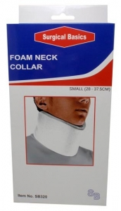 SB FOAM NECK COLLAR SMALL 28-38CM