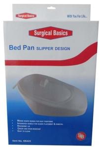 BED PAN SLIPPER DESIGN