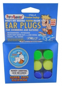 PUTTY BUDDIES EAR PLUGS SILICONE 6 PACK