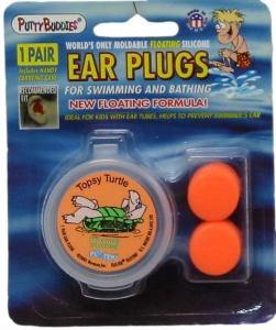 PUTTY BUDDIES EAR PLUG SILICONE 1PR ASST