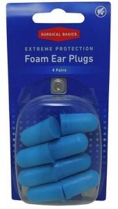 SB EXTREME FOAM EAR PLUGS NRR33 4PR
