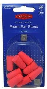 SB SILENT NIGHT EAR PLUGS NRR33 4PR