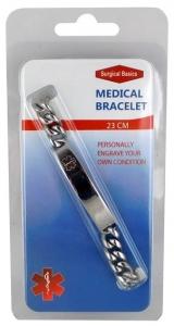 SB MEDICAL BRACELET 23CM