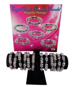 CRYSTAL MAGNETIC BRACELET DISP12