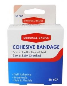 SB COHESIVE BANDAGE TAN 5CMX1.7M+++