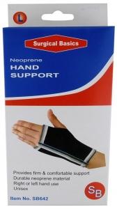 SB HAND SUPPORT NEOPRENE LARGE+++