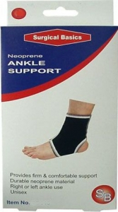 SB ANKLE SUPPORT NEOPRENE SMALL