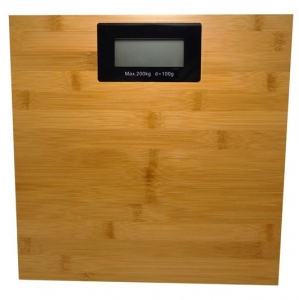 ELECTRONIC SCALES BAMBOO 200KG
