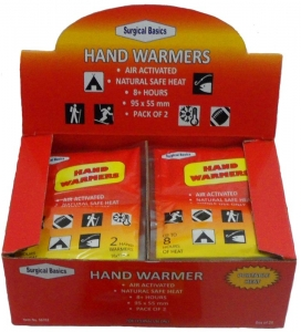 HAND WARMER 95X55MM 2PK DISP 24**OUT OF STOCK***