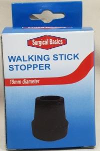 SB WALK  STICK RUBBER STOPPER 19MM