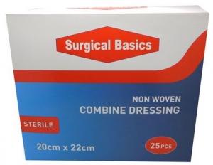 SB COMBINE DRESSING 20X22C DISP25 L/FREE