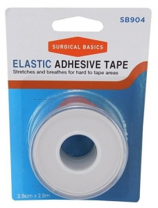 SB ELASTIC ADH TAPE 2.5X2.5M H/SELL