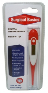 THERMOMETER DIGITAL FLEXIBLE TIP