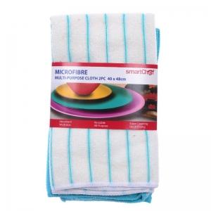 SC MICROFIBRE MULTI-PURPOSE CLOTH 2PC