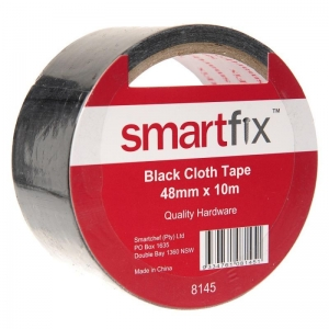 SC CLOTH TAPE 10M BLACK