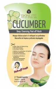 CUCUMBER  MASK DEEP CLEANSING P/OFF PK6