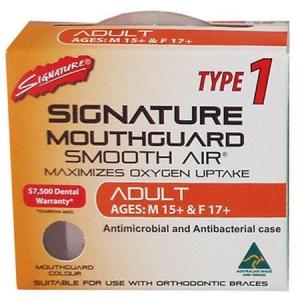 SIGNATURE MOUTHGUARD ADULT TYPE 1
