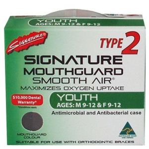 SIGNATURE MOUTHGUARD YOUTH TYPE 2