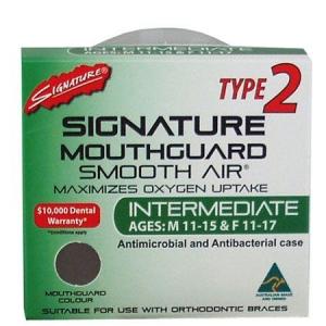 SIGNATURE MOUTHGUARD INTERMEDIATE TYPE2