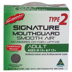 SIGNATURE MOUTHGUARD TYPE 2 ADULT