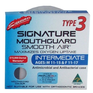 SIGNATURE MOUTHGUARD INTERMEDIATE TYPE3